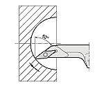 京セラ 内径加工用ホルダ 型番:A20RSVJBR1125AE