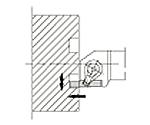 京セラ 溝入れ用ホルダ 型番:GFVR2525M702B