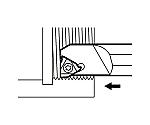 京セラ ねじ切り用ホルダ 型番:SINR2016S16