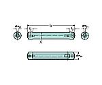 サンドビック コロターンXS 小型旋盤用アダプタ 型番:CXSA2205 CXSA2205
