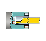 サンドビック コロターンXS 小型旋盤用インサートバー 1025 型番:CXS06F2506215AR 1025
