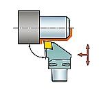 サンドビック コロマントキャプト T-Max P用カッティングヘッド 型番:C4PCLNL2705012