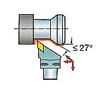 サンドビック コロマントキャプト コロターンRC用カッティングヘッド 型番:C6DDJNL4506515等