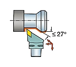 サンドビック コロマントキャプト コロターンRC用カッティングヘッド C6DDJNL4506515