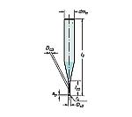 サンドビック コロミルプルーラ 超硬ソリッドエンドミル 型番:R216.4~