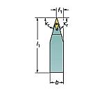 サンドビック コロターンTR シャンクバイト 型番:TRV13VBN2020K等