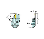サンドビック コロターンSL コロカット1・2用端面溝入れブレード 57032R123F12B040B