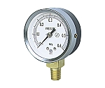 JIS汎用形圧力計(A枠立型・φ60・テーパーねじ)