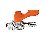 エースボール ホースニップル型 接続口径D:R1/8 タケノコ外径:10.5 空気、水、油用   BH1110
