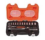 インチソケットセット 1/4 差込角6.35mm S160AF