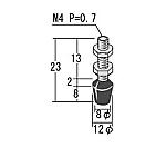 トグルクランプ用 ゴム付ボルト RBTシリーズ