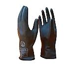 低圧ゴム手袋(薄手タイプ)直流750V以下 505