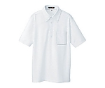 ボタンダウン半袖ポロシャツ