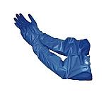 腕カバー付手袋NO.370ニトリル耐油中厚手