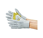 牛床革背縫い手袋(本革当付)