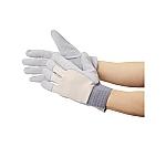 袖口ゴムタック式革手袋 フリーサイズ JK126
