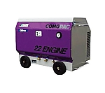 出張作業用エンジンコンプレッサー(リコイル式・オイルフリータイプ)