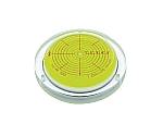 角度計付丸台型アイベル水平器(取付穴付)