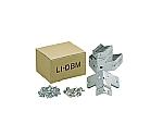軽量棚 中棚ボルトレス型用天地金具セット LIDBM