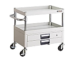 NIXX Wagon 600X400XH600 2 stages with drawer W color and others