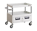 NIXX Wagon 600X400XH600 2 columns with drawer W color and others