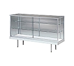 Flat case (1200 x 450 x 917) Silver and others