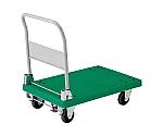 樹脂製運搬車グランカート(折りたたみハンドルタイプ・ストッパー付)