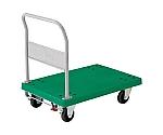 樹脂製運搬車グランカート(固定ハンドルタイプ・ストッパー付)