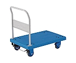 樹脂製運搬車グランカート サイレント(固定ハンドルタイプ・ストッパー付)