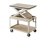 ローハイシステム テーブル スクリュー式 スチール製 ワゴン仕様