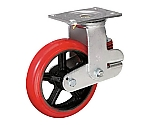 バネ付きウレタン牽引車輪