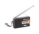 水電池付 AM/FMラジオ