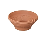 Relief Ball planter terra-cotta Brown 360 and others