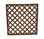 Lattice Brown 900 x 900mm and others