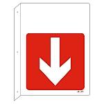 JIS安全標識(L型表示板) 無地 JA-421 392421
