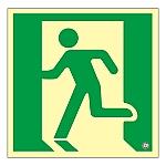 高輝度蓄光避難口誘導標識