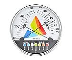 熱中症・インフルエンザ警告 温湿度計 O-311WT