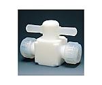 フッ素樹脂 二方バルブ圧入型等