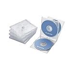 CD DVDプラケース 4枚収納