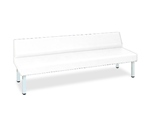 ST Bench (01) W45 (full W60) x L180 x H39 (overall H69)cm White  and others