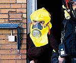 [取扱停止]S-キャップフード 火災避難用ろ過式呼吸保護具 (紙箱入り)