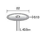 電着ダイヤモンドカッティングディスク 22mmΦ×シャンク径2.34mm 等等