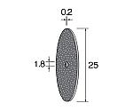 カッティング砥石 25×0.2 (10個) 等等