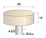 フェルトバフ ソフト 30Φ×10mm (5個) GA3081 等