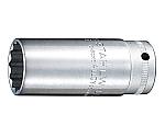 (3/8SQ)ディープソケット(12角) (02020008) 46-8 等