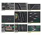 BMWモーターサイクル用工具セット 2501NTCS 215点組