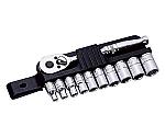 ソケットレンチセット 1/4DR 11PC ミリサイズ 11711S