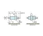 インデックスプランジャー(ノブ無し) NDX10N-M4-SUS NDX10N-M4-SUS