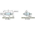 インデックスプランジャー(ノブ無し) SDX10N-M4-SUS等