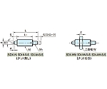 インデックスプランジャー(ノブ無し) SDX10N-M4-SUS SDX10N-M4-SUS